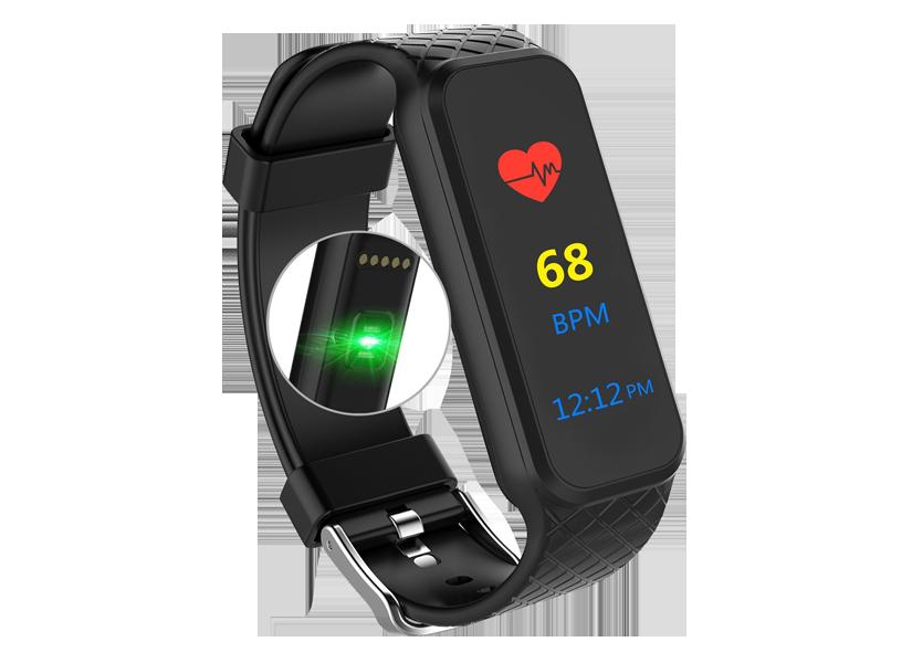 smartwatch L38I display colorato
